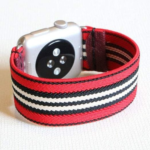 Tirana | Boho Armband für Apple Watch (Rot)