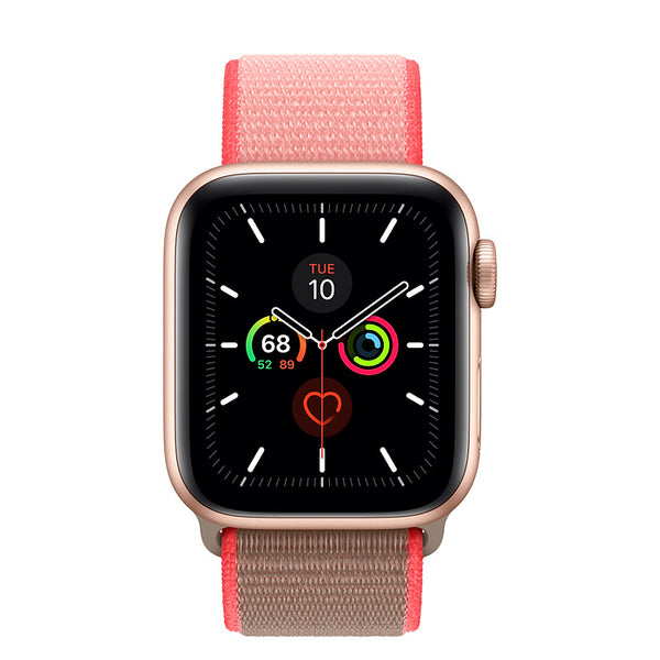 Sport Loop Neon Pink | Armband für Apple Watch (Pink)