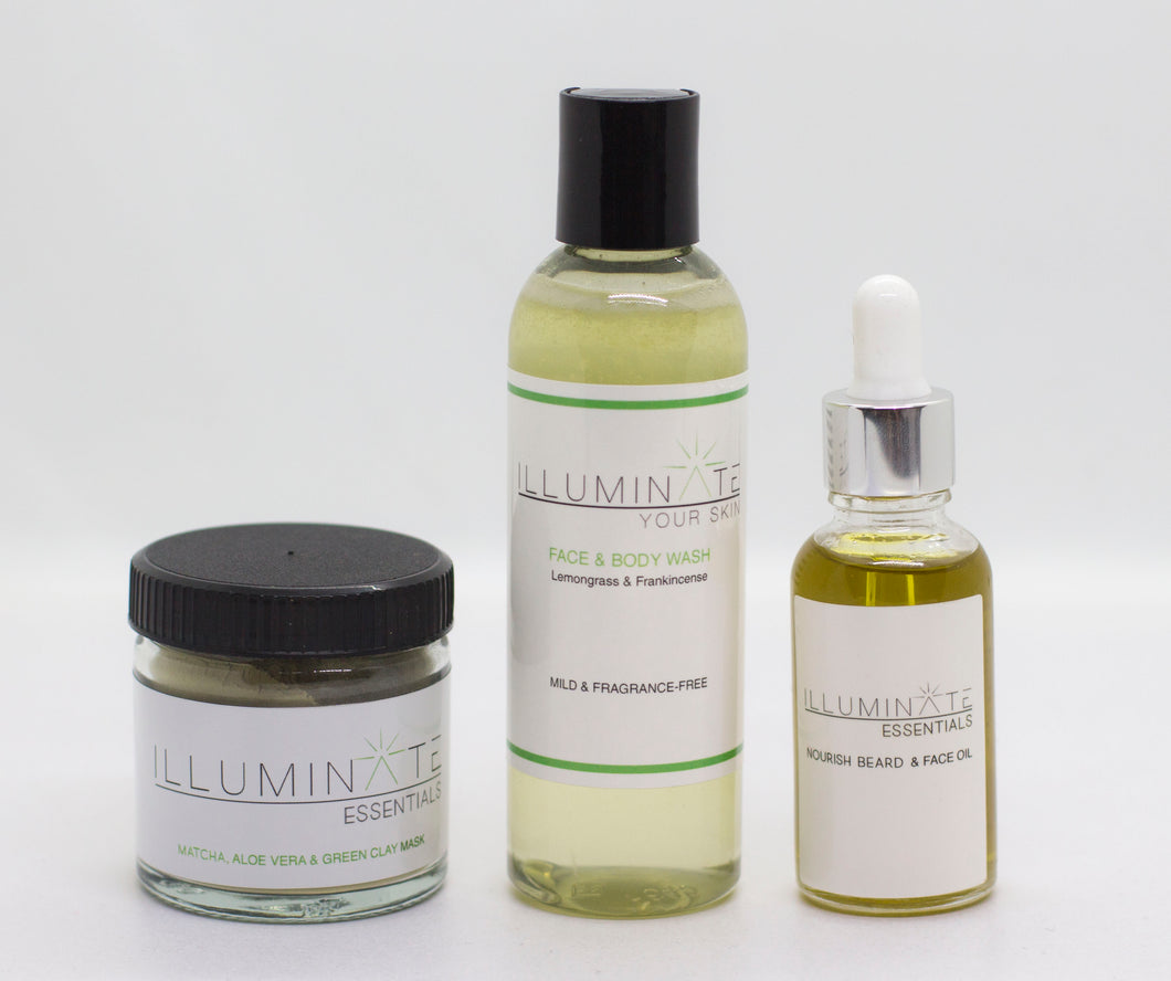 "Illuminate ""All You Need"" Men's Skincare Set"