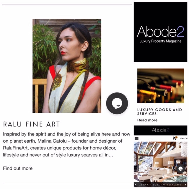 RaluFineArt published in ABODE2 UK