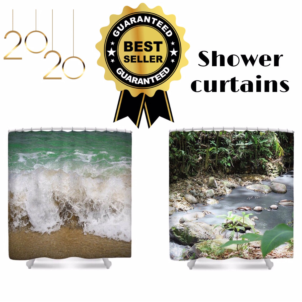 Bath and Beyond - Nature Themed Shower Curtains