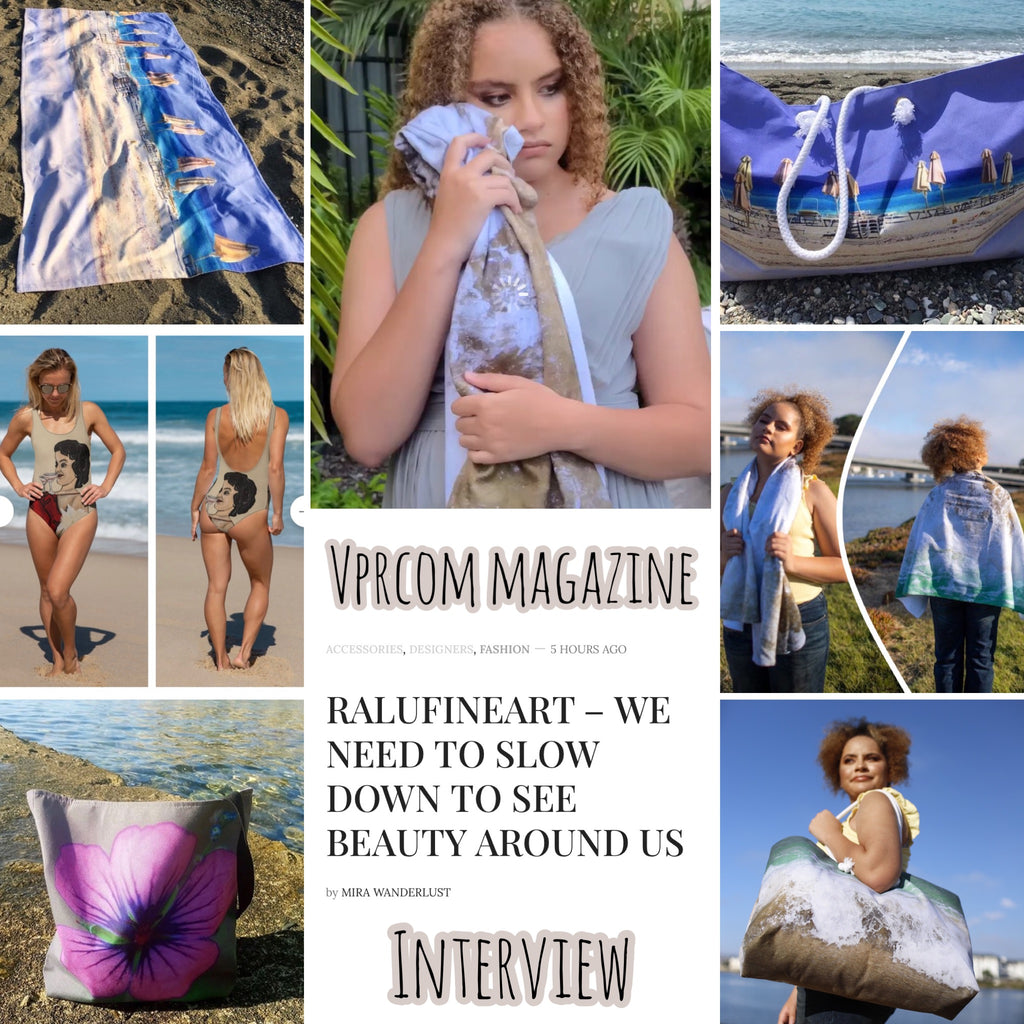 RALUFINEART INTERVIEW with VPRCOM MAGAZINE