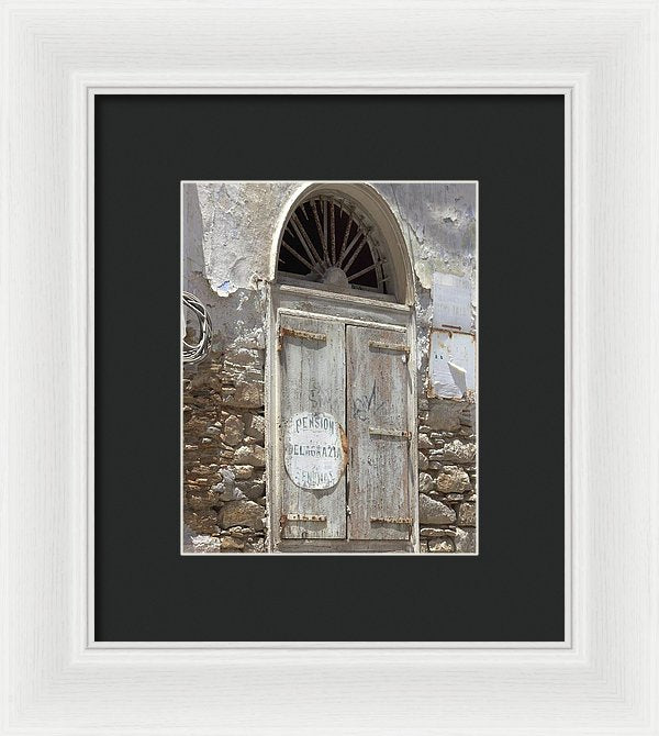 Abandoned Places - Framed Print