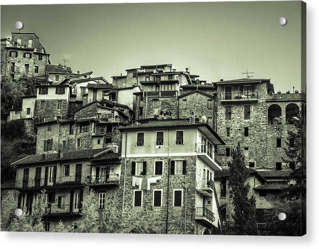 Apricale Italy - Acrylic Print