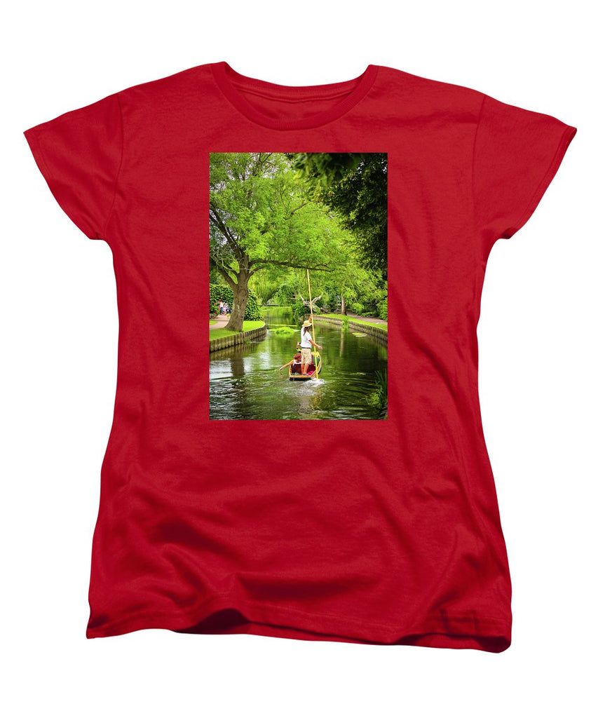 Gondola Ride Down The River - Women's T-Shirt (Standard Fit)