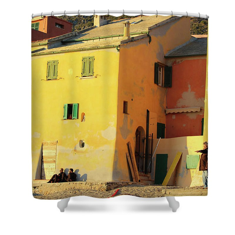 Under The Ligurian Sun - Shower Curtain