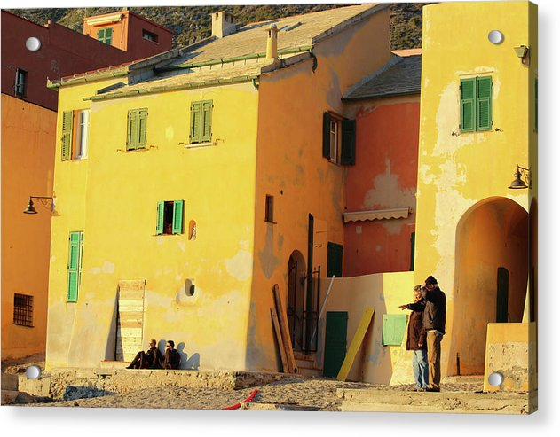Under The Ligurian Sun - Acrylic Print