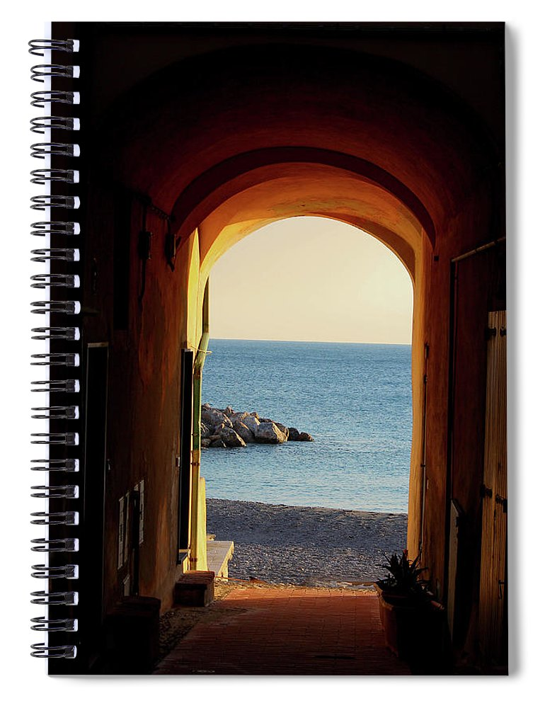 A Piece Of Liguria Coast - Spiral Notebook