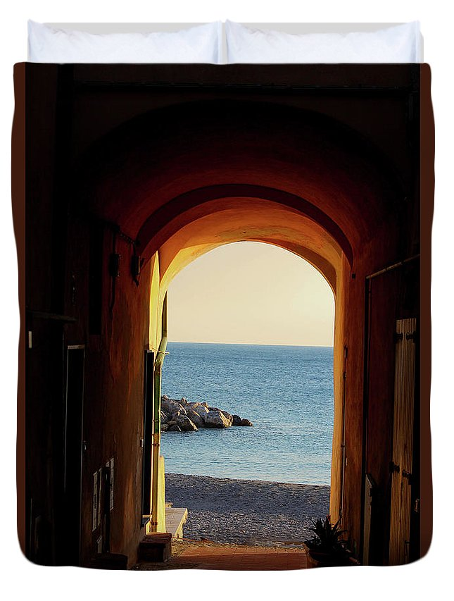 A Piece Of Liguria Coast - Duvet Cover