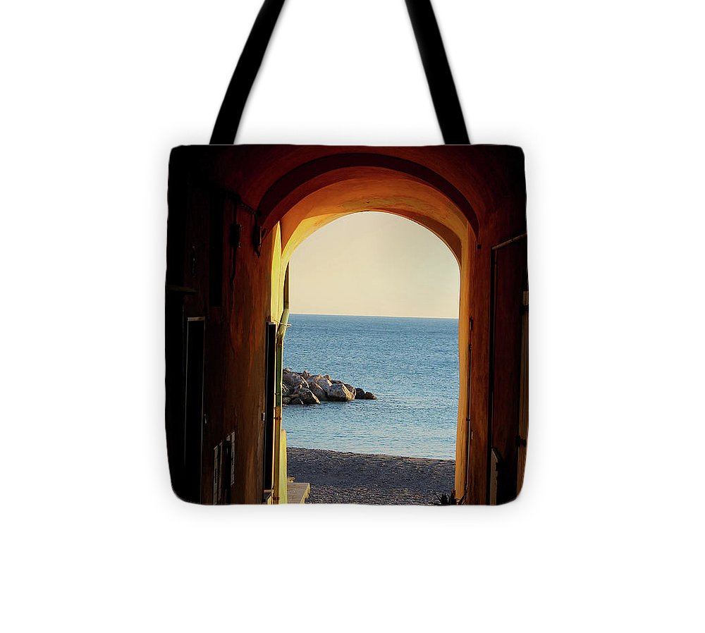 A Piece Of Liguria Coast - Tote Bag