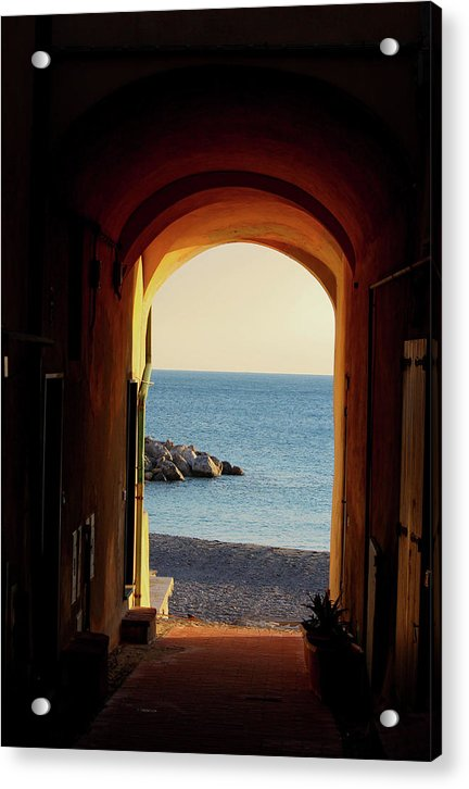 A Piece Of Liguria Coast - Acrylic Print