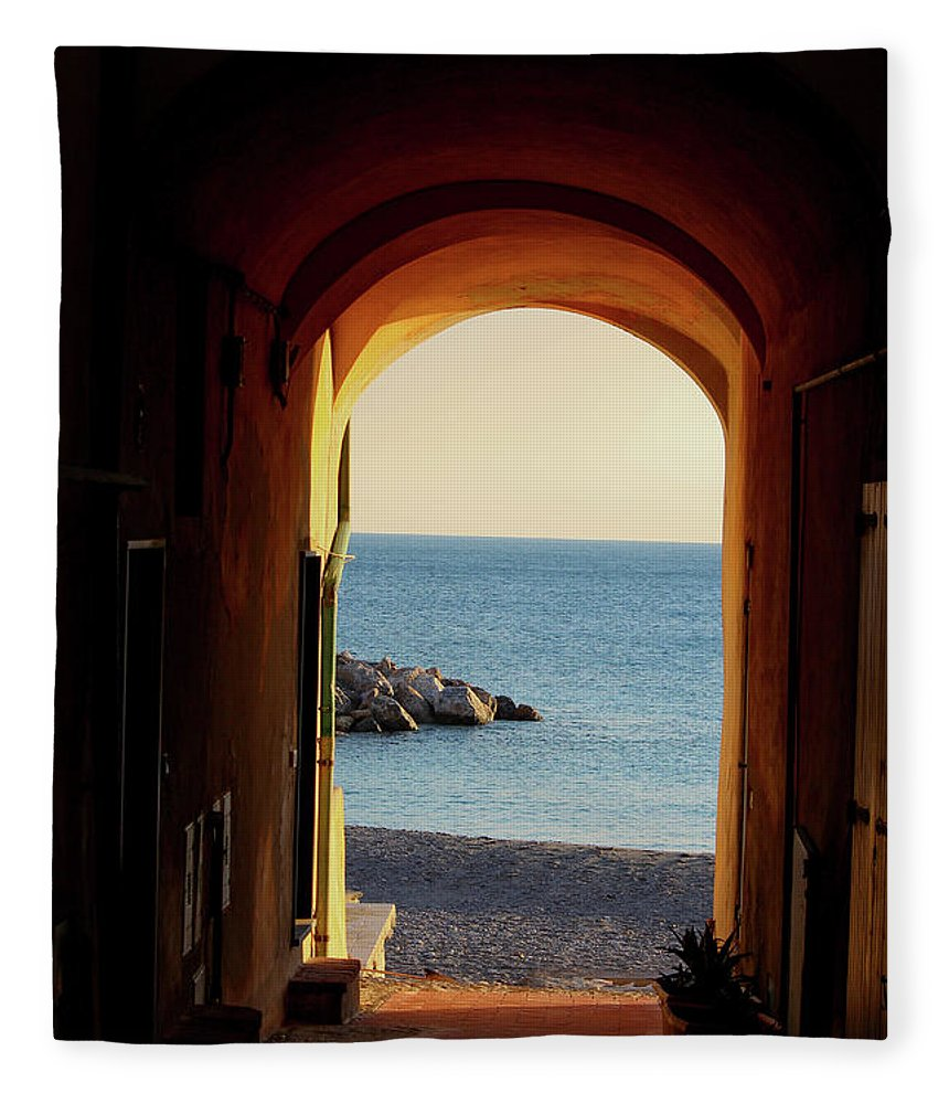 A Piece Of Liguria Coast - Blanket