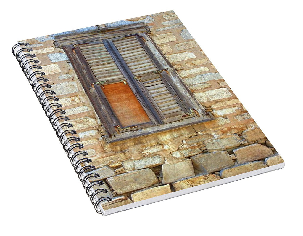 Abandoned Places - Spiral Notebook