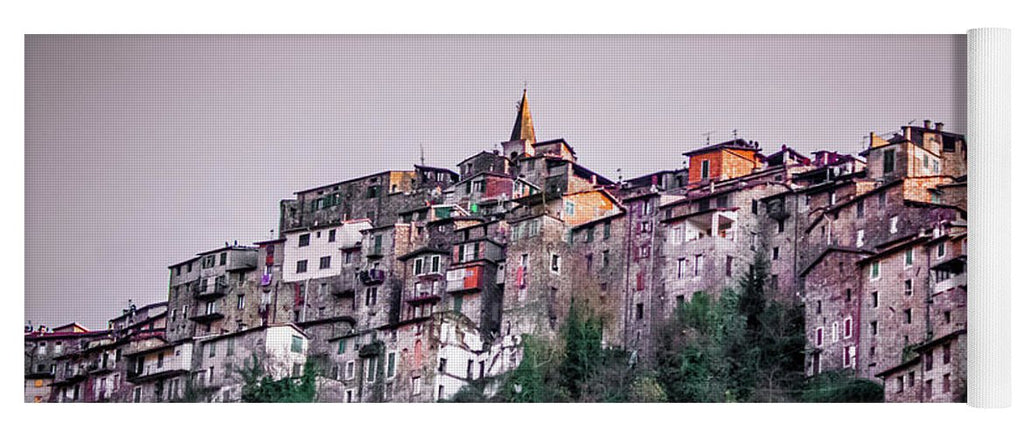 Apricale Italy - Yoga Mat