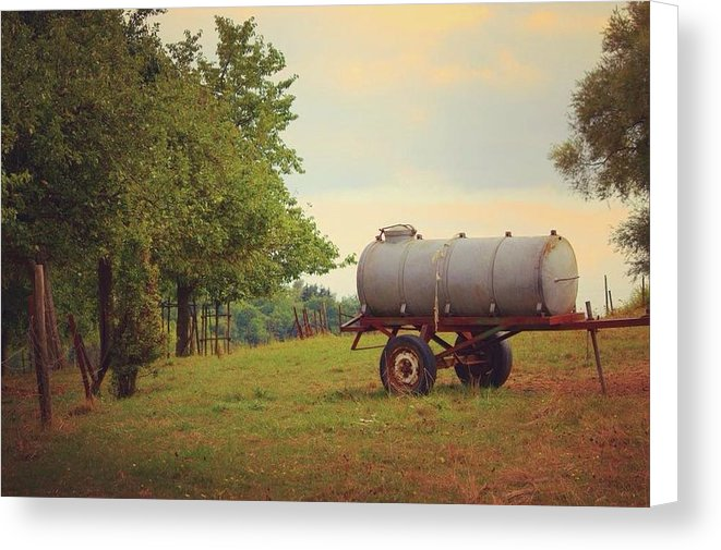 Autumn In The Countryside - Canvas Print