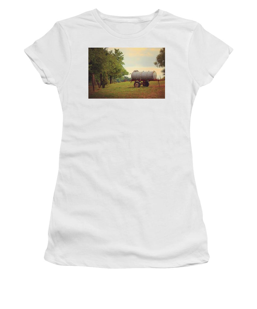 Autumn In The Countryside - Women's T-Shirt (Athletic Fit)