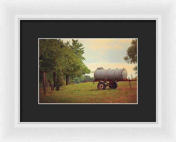 Autumn In The Countryside - Framed Print