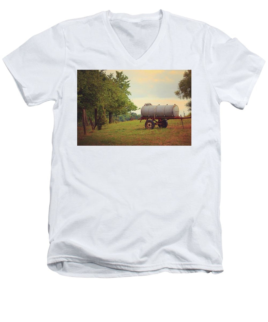 Autumn In The Countryside - Men's V-Neck T-Shirt