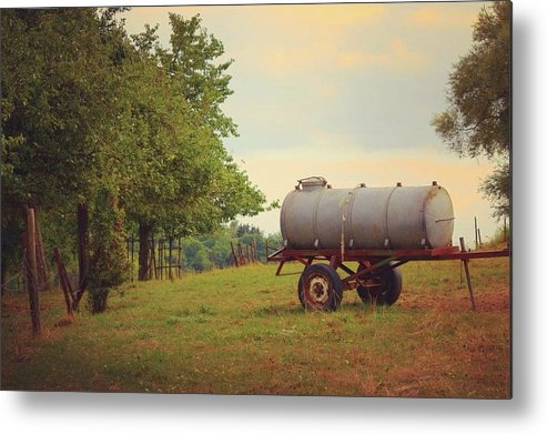 Autumn In The Countryside - Metal Print