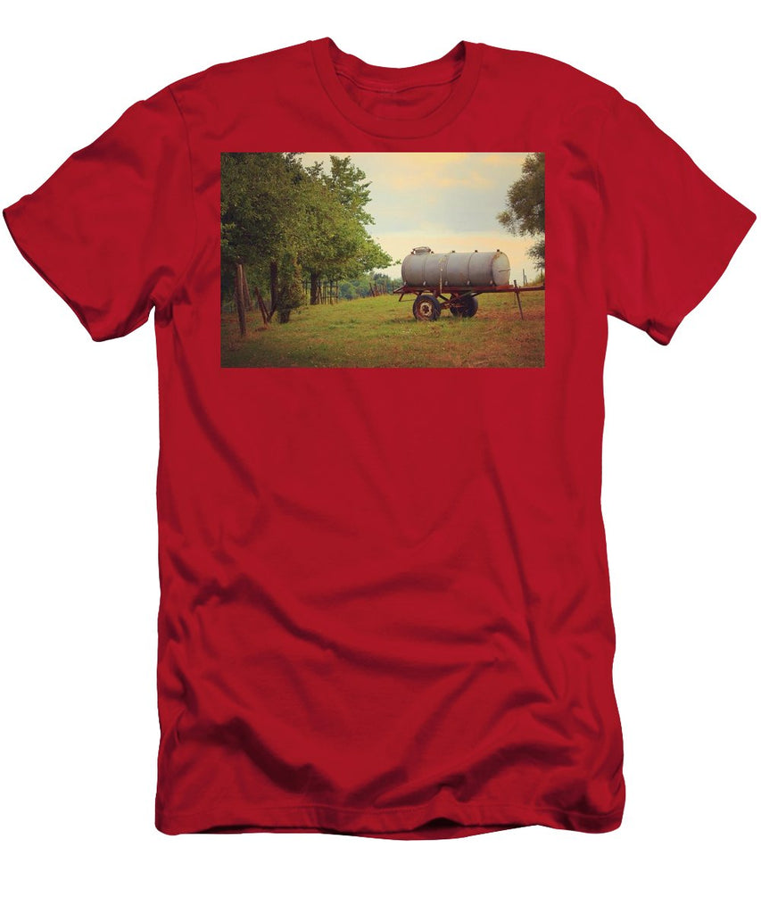 Autumn In The Countryside - Men's T-Shirt (Athletic Fit)
