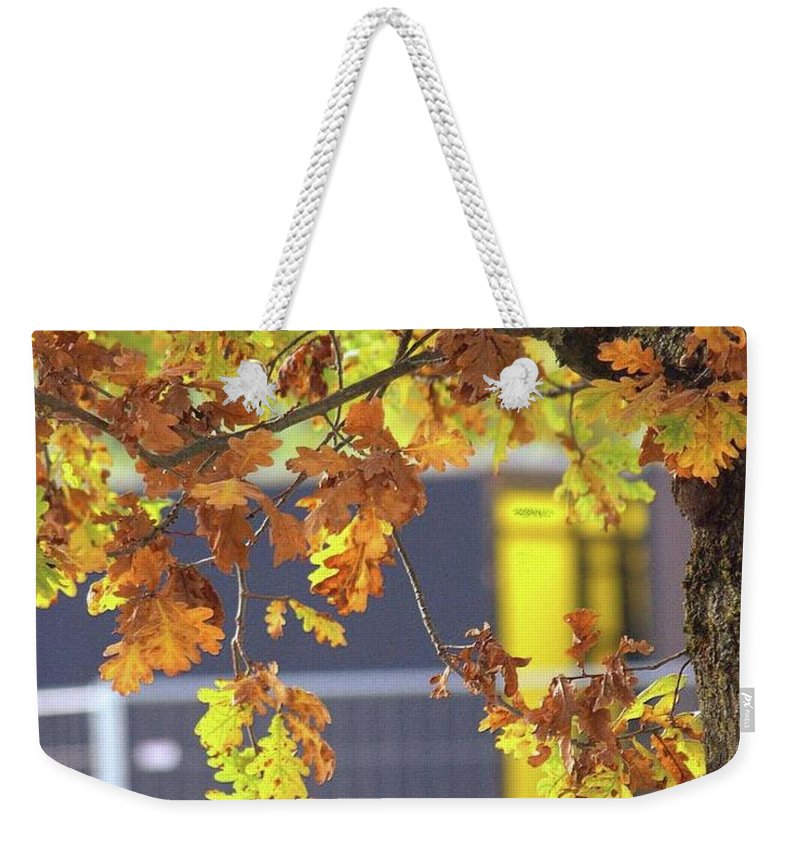 Autumn Leaves - Weekender Tote Bag