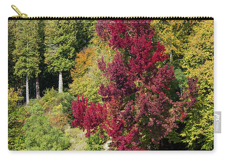 Autumnal View In Belgium - Carry-All Pouch