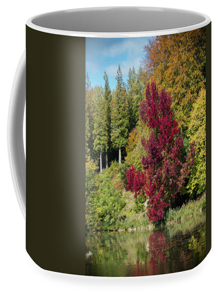 Autumnal View In Belgium - Mug