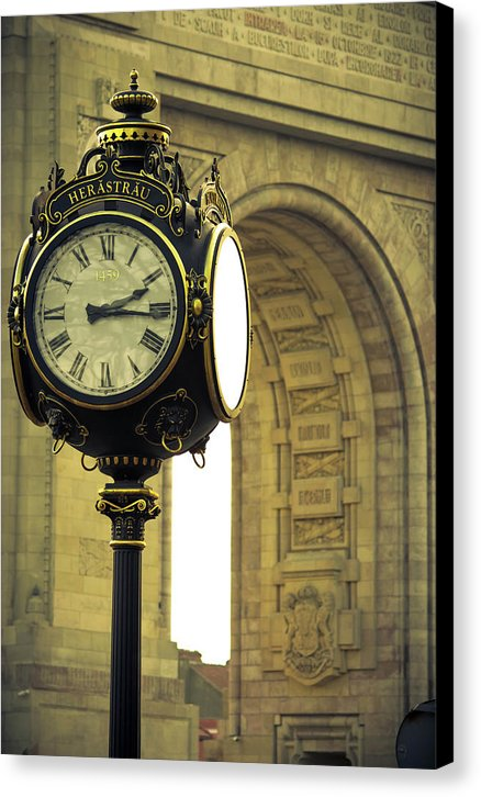 Back In Time 1459  - Canvas Print