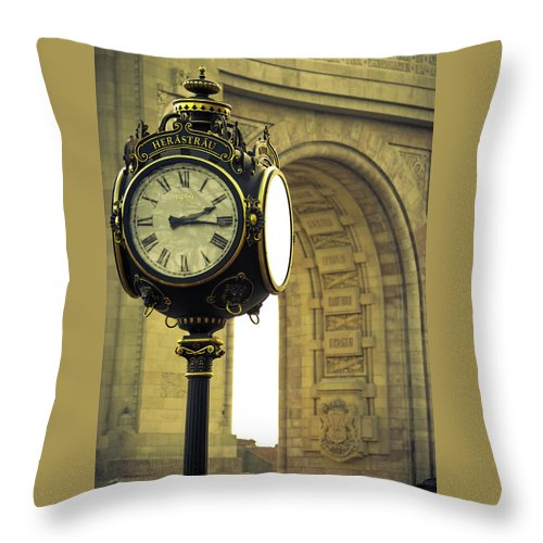 Back In Time 1459  - Throw Pillow