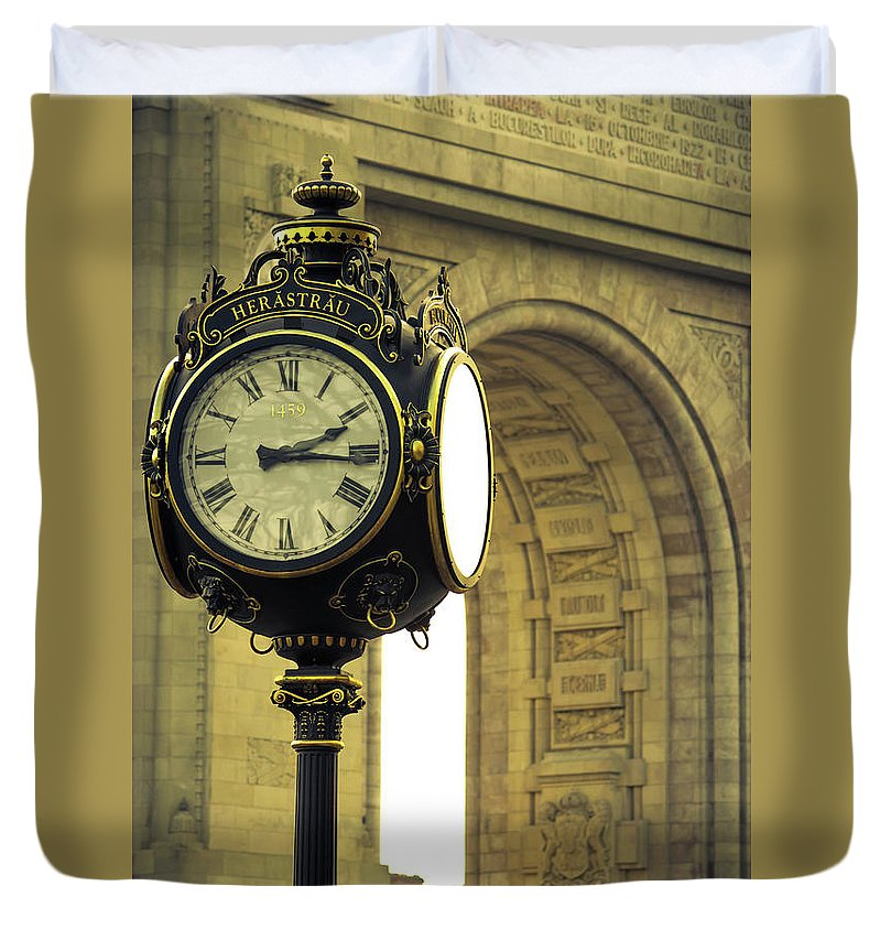 Back In Time 1459  - Duvet Cover