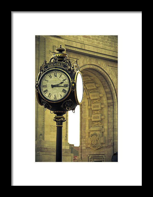 Back In Time 1459  - Framed Print