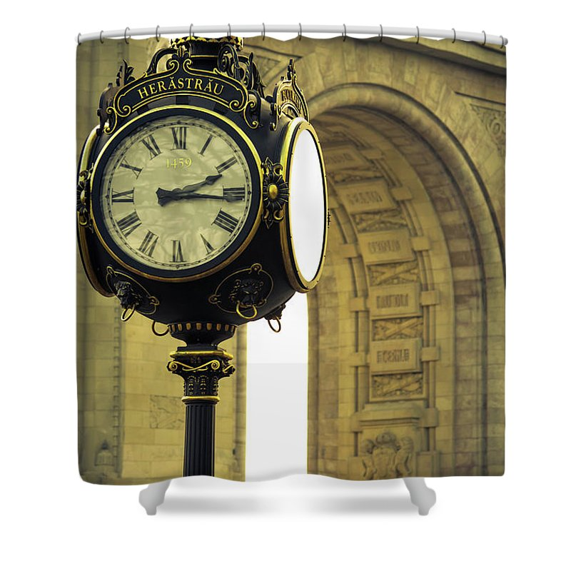 Back In Time 1459  - Shower Curtain