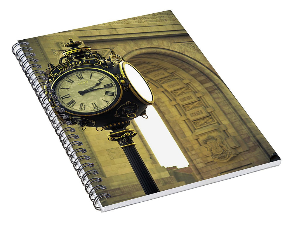 Back In Time 1459  - Spiral Notebook