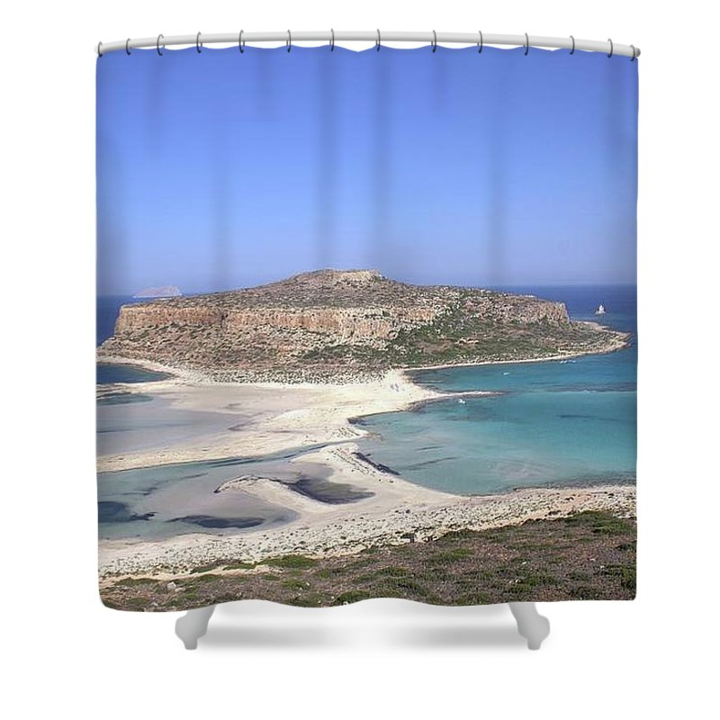 Balos Lagoon - Shower Curtain