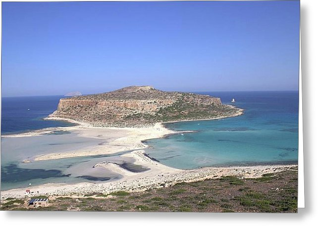 Balos Lagoon - Greeting Card