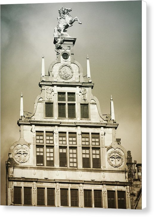Brussels Features - Canvas Print