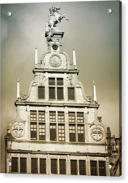 Brussels Features - Acrylic Print