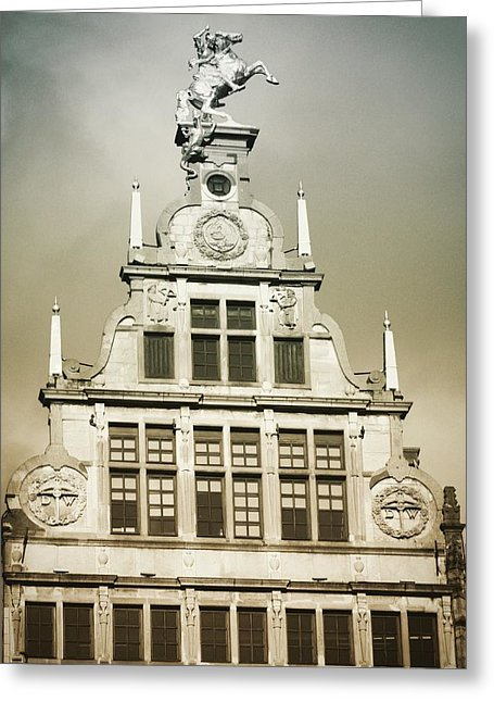Brussels Features - Greeting Card