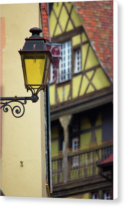City Features Of Colmar - Canvas Print