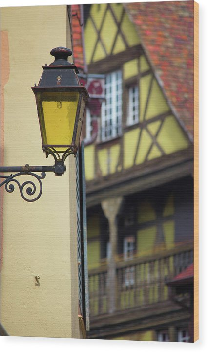 City Features Of Colmar - Wood Print