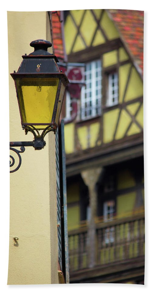 City Features Of Colmar - Beach Towel