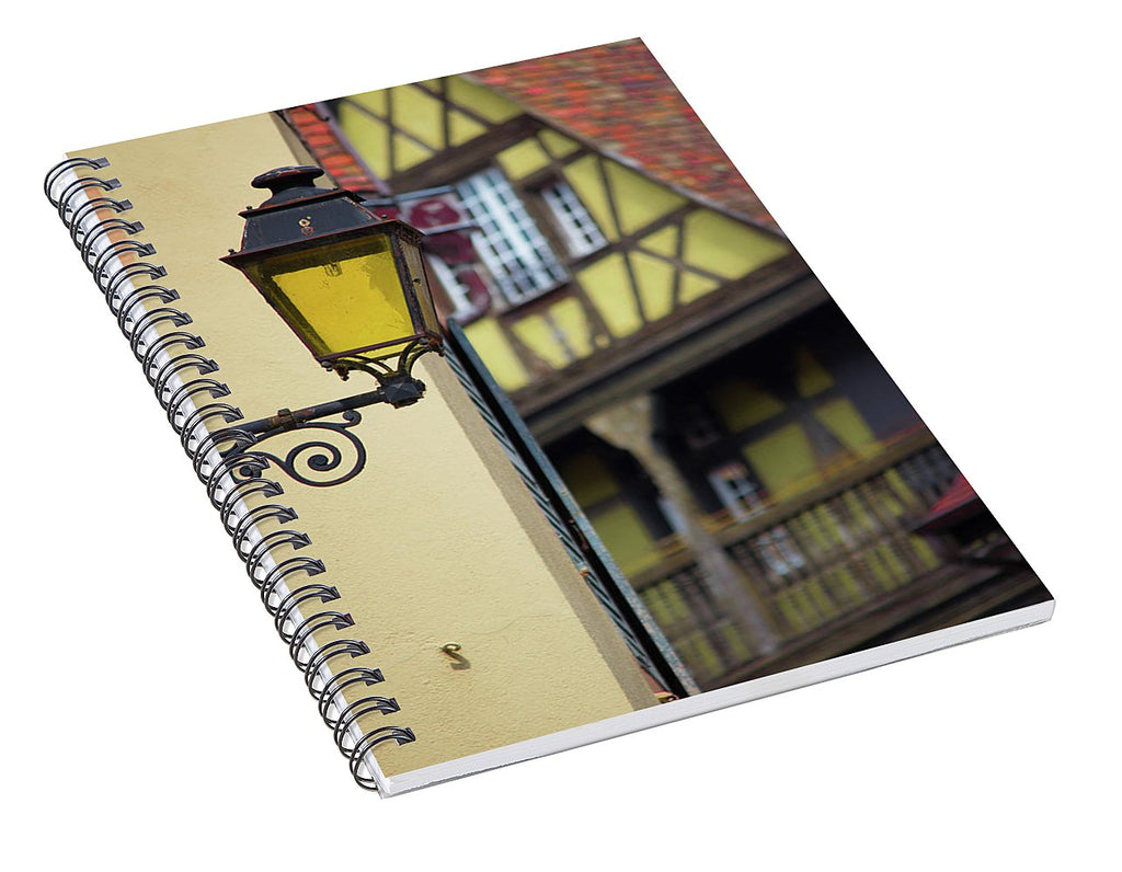 City Features Of Colmar - Spiral Notebook