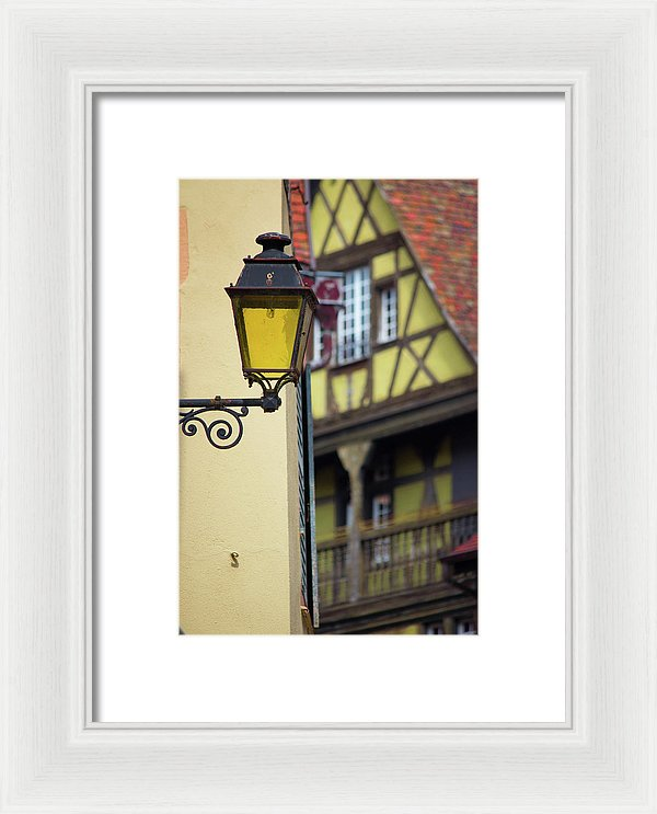 City Features Of Colmar - Framed Print
