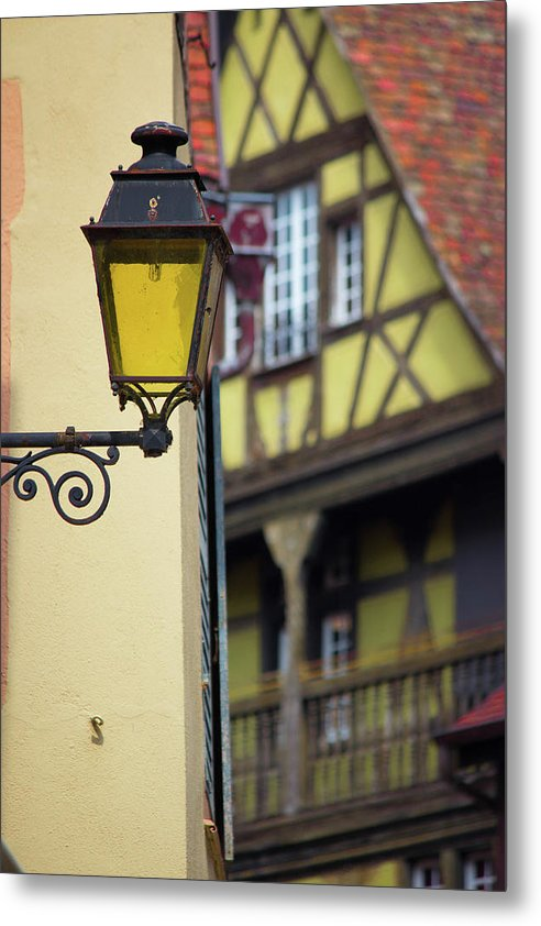 City Features Of Colmar - Metal Print