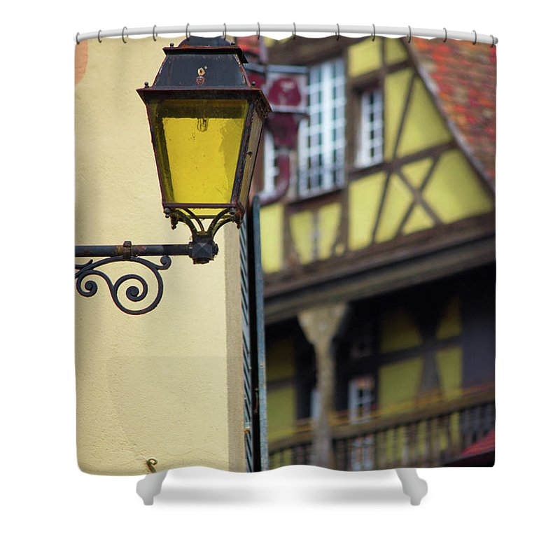 City Features Of Colmar - Shower Curtain