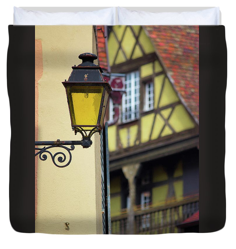 City Features Of Colmar - Duvet Cover