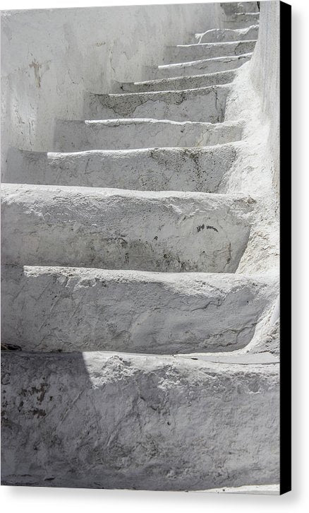 Climbing Stairs - Canvas Print