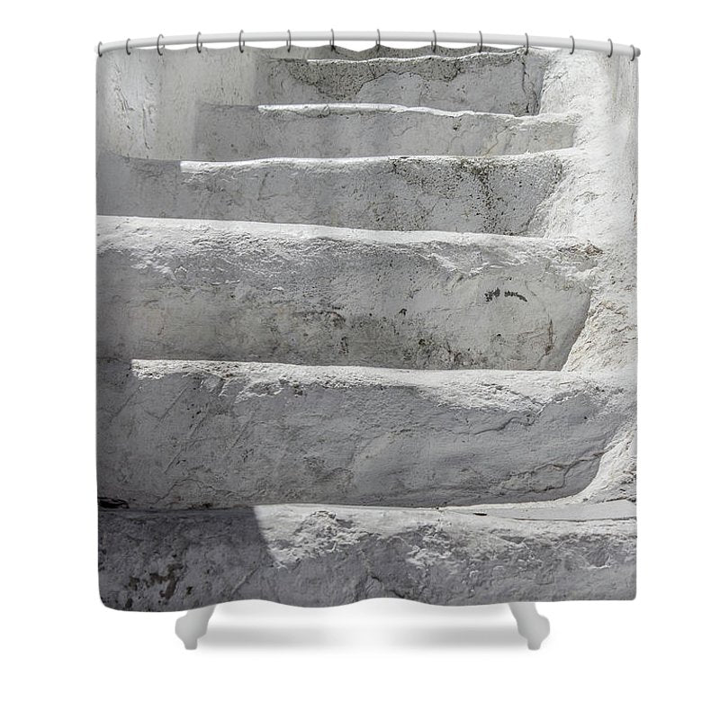 Climbing Stairs - Shower Curtain