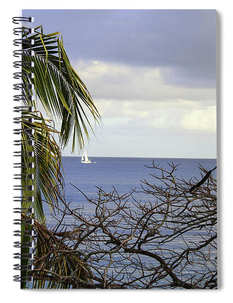 Cloudy Day  - Spiral Notebook