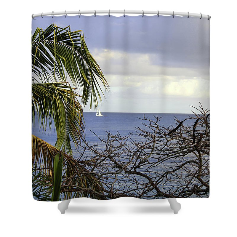 Cloudy Day  - Shower Curtain